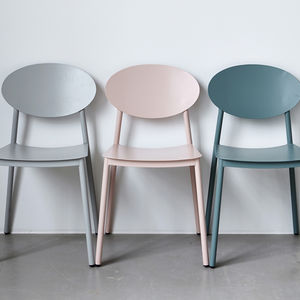 Walker Aluminium Chair - soft colour pop