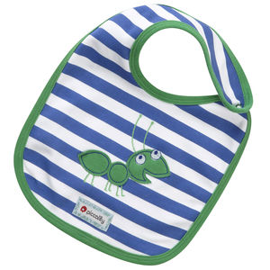 Ant Applique Reversible Bib