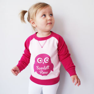 Personalised Children's Colourful Animal Jumper