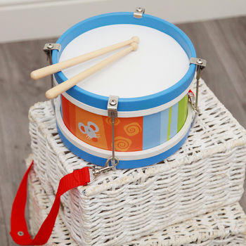 Wooden Toy Drum
