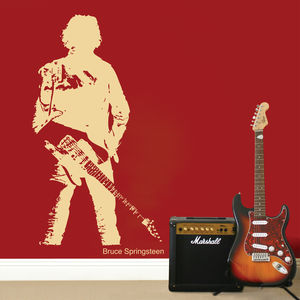 Bruce Springsteen Wall Sticker - wall stickers