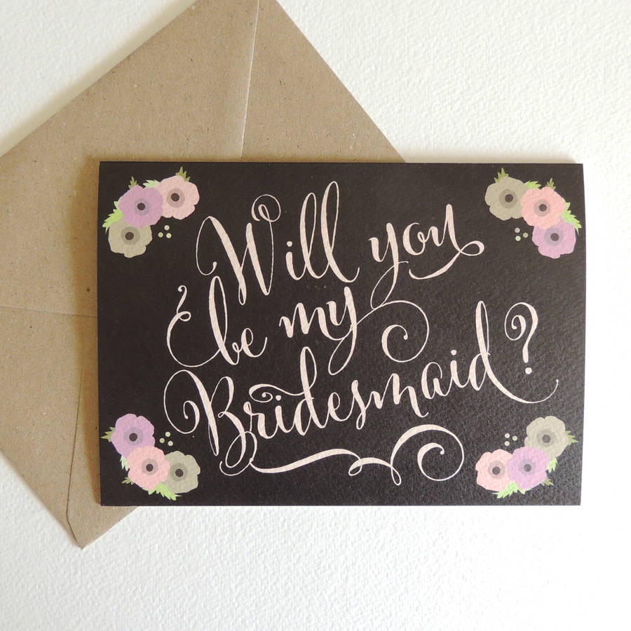 Invitations For Bridesmaids was nice invitation example
