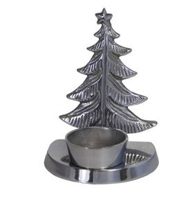 Christmas Tree Tea Light Holder - lighting