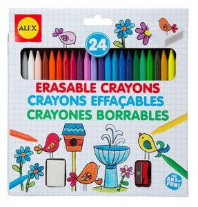 24 Erasable Crayons