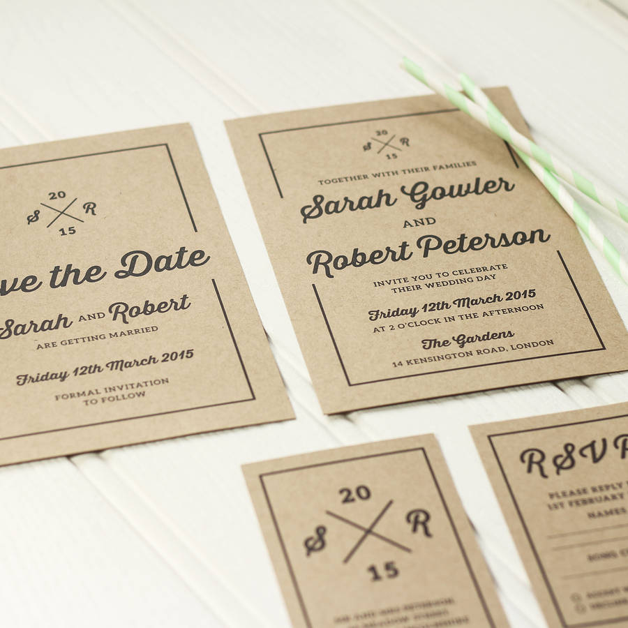 Different wedding Invitations Blog: Letterpress wedding invitations ...