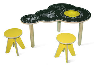 Cloud Table + Stools