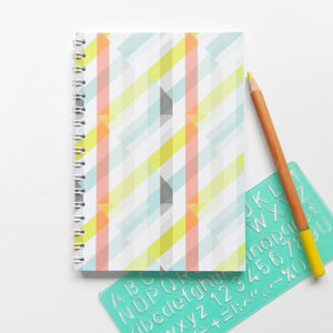 Spiral Bound Notebook In Glasshouse