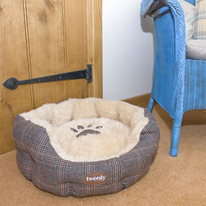 Country Style Dog Bed - beds & sleeping