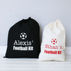 Personalised Football Sport Bag
