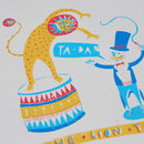 Liontamer Print