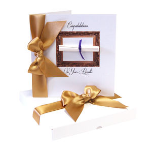 The Graduate A Level Results Congratulations Card - exam congratulations gifts