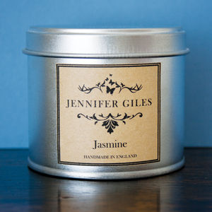 Jasmine Scented Hand Poured Candle