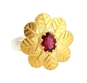 Daisy Tourmaline Ring