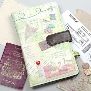 Bon Voyage Travel Wallet - gifts for grandparents