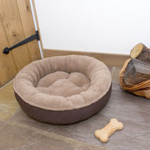 Hound Donut Dog Bed