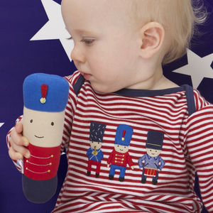 Soldier Baby Rattle - baby care