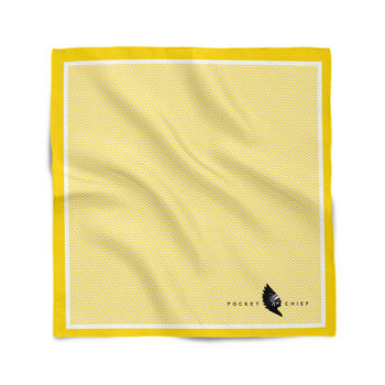 Classic Geometric Pocket Square Assorted Colours