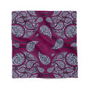 Paisley Dragonfruit Pocket Square