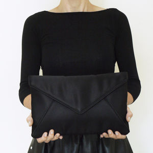 Large Katerina Envelope Clutch - bags