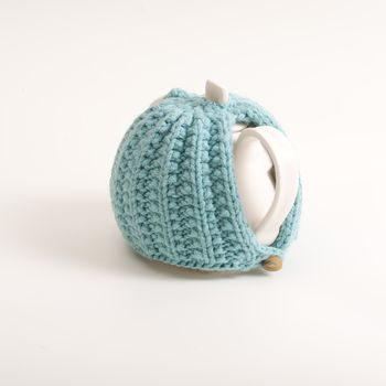 turquoise teacosy
