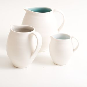 Handmade Porcelain Jug - dining room