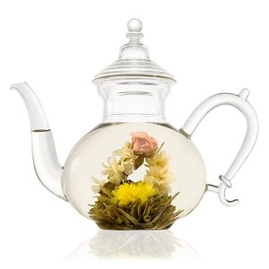 Persian Glass Teapot With Filter 800ml - teapots