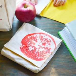Organic Cotton Snack Pack Sets - picnic bags