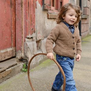 Child Size Drambuie Cardigan Knitting Kit