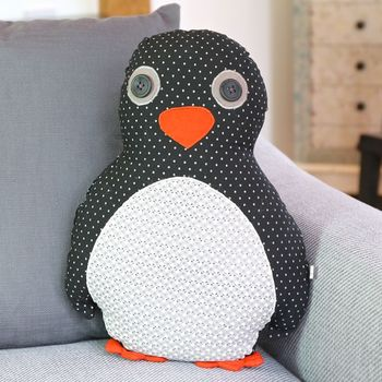 Pete Penguin Cushion