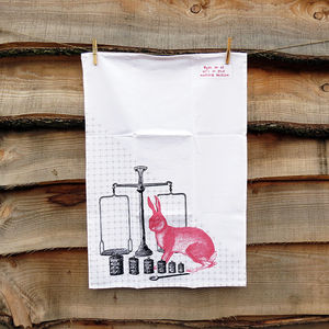 Kitchen Hare Tea Towel - kitchen accessories