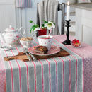 Nikky Striped Cotton Table Runner