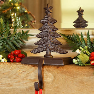 Christmas Tree Stocking Holder - fireplace accessories