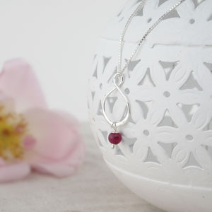 Aida Pink Jade And Sterling Silver Pendant - women's jewellery