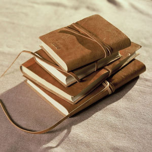 Eco Leather Journal - gifts for her