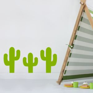 Cactus Wall Stickers - on trend: cactus