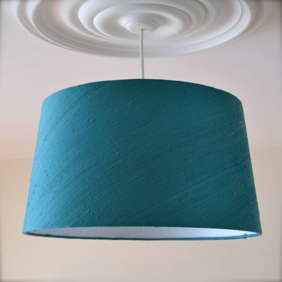 amilie silk french drum lampshade by swee mei lampshades ...