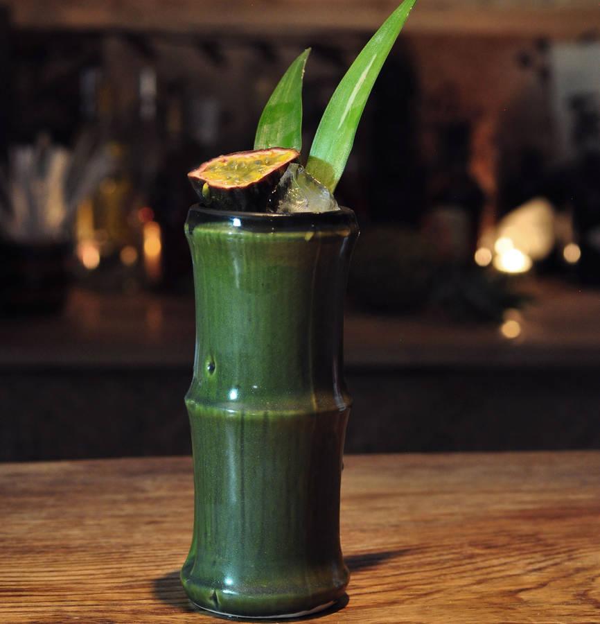 Ceramic Bamboo Cocktail Mug By Bespoke Barware