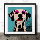 Personalised Dog Pop Art Poster