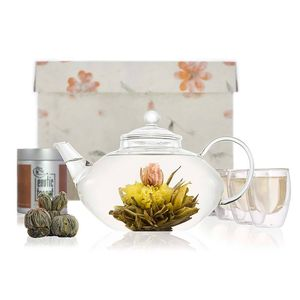 Imperial Blooming Tea Set - cups & saucers