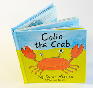 Colin The Crab Pop Up Book - toys & games