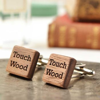 Touch Wood Cufflinks