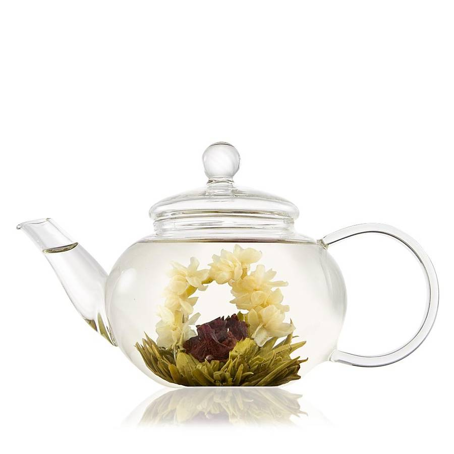 Classic glass teapot with infuser by the exotic teapot - Tea pots with infuser ...