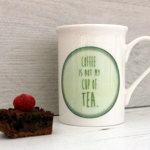 Tea Lovers Bone China Mug