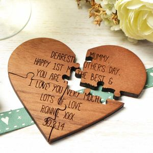 First Mother's Day Jigsaw Card
