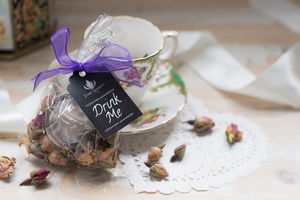 Wedding Favour Tea Balls - edible favours