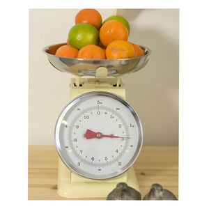 Retro Enamel Kitchen Scales - kitchen accessories