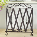 Ornate Metal Cook Book Stand
