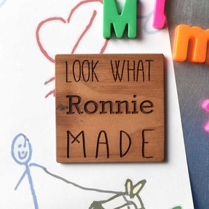 'Look What I Made' Fridge Magnet - kitchen accessories