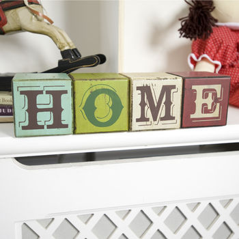 Home Decorative Wooden Building Blocks