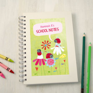 Personalised Back To School Notebook